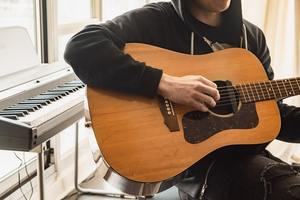 Identify these parts of the Guitar